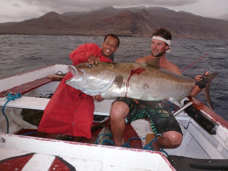 марлин рыбалка на кабо верде